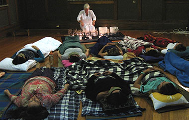 group sound healing